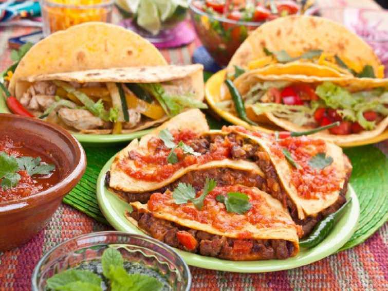 Закуски мексиканской кухни