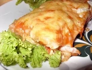Мексиканский пирог с курицей