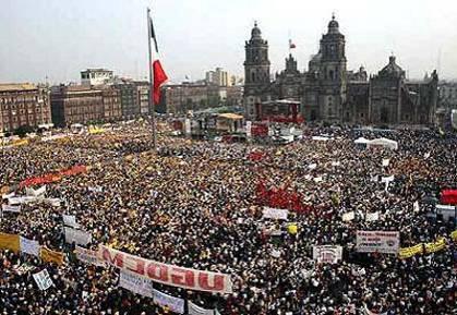 Демографическая ситуация в Мехико