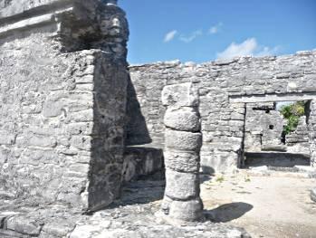Внутреннее строение археологической  зоны Тулум
