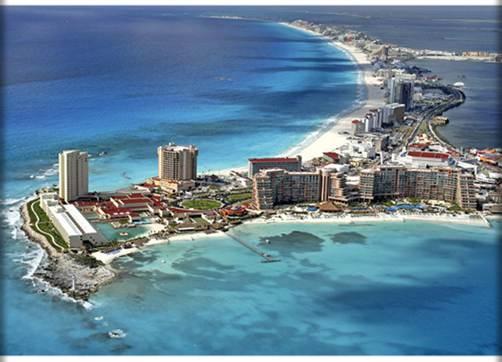 Пляжный отдых в  Канкуне