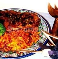 Говяжий стейк с острым соусом